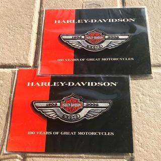 ハーレーダビッドソン(Harley Davidson)の【送料込】ハーレーダビッドソン☆100周年限定ワッペン 2枚セット(その他)
