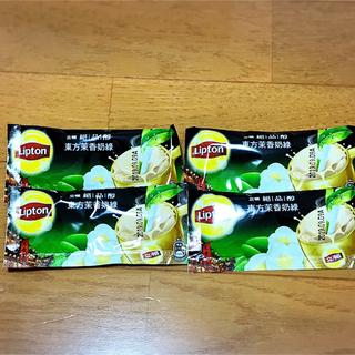 ユニリーバ(Unilever)の台湾限定 ☆ リプトン ジャスミンミルクティ 4個(茶)