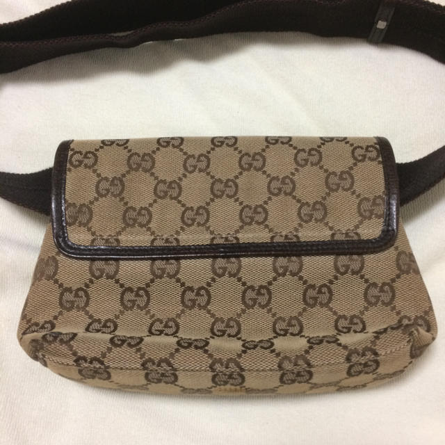 purchase cheap 350c9 96d51 定価6万【グッチ/GUCCI】ウエストポーチ★バッグ