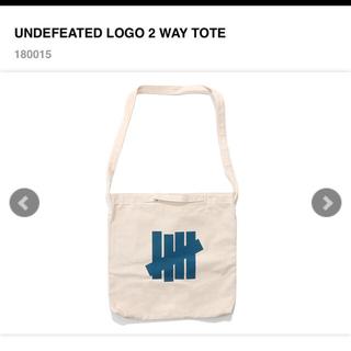 アンディフィーテッド(UNDEFEATED)の【定価販売!】UNDEFEATED アンディフィーテッド ロゴ ショルダーバッグ(トートバッグ)