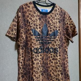 アディダス(adidas)のアディダスオリジナルス Tシャツ ヒョウ柄(Tシャツ/カットソー(半袖/袖なし))