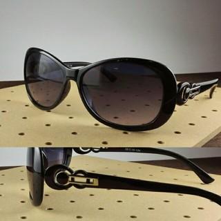 ファッションサングラスBT-V8799-1 ブラック/スモークハーフ レディース(サングラス/メガネ)