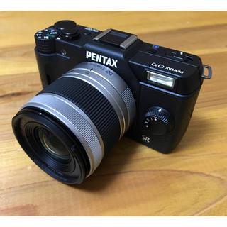 ペンタックス(PENTAX)の【美品】PENTAX Q10 *WiFiカード付き(ミラーレス一眼)