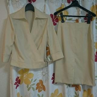 ミッシェルクラン(MICHEL KLEIN)のミッシェルクラン七分袖スーツ(サイズ38)(スーツ)