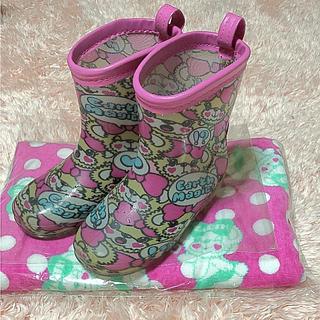 アースマジック(EARTHMAGIC)のEARTH MAGIC長靴18cm(長靴/レインシューズ)