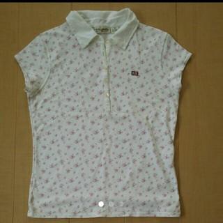 ポロラルフローレン(POLO RALPH LAUREN)のラルフローレン 花柄ポロシャツ Mサイズ 美品(ポロシャツ)