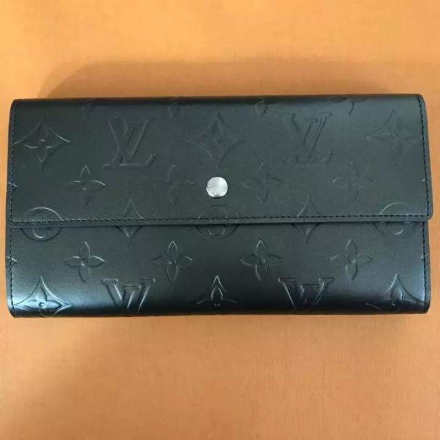 pretty nice 5e815 09ae5 新品・未使用 ルイヴィトン モノグラム マット 長財布 ノワール(黒) | フリマアプリ ラクマ