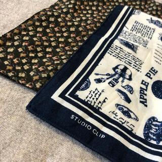 スタディオクリップ(STUDIO CLIP)の【STUDIO CLIP】ハンカチ&スカーフ 2枚セット☆新品☆(バンダナ/スカーフ)