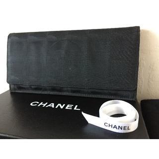 シャネル(CHANEL)のCHANEL/シャネル ニュートラベルライン 二つ折り長財布(財布)