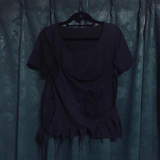 スティグマータ(STIGMATA)のスティグマータ ゴシック ダメージTシャツ(Tシャツ(半袖/袖なし))
