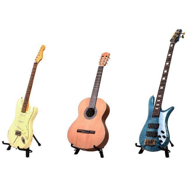 送料無料☆コンパクトギタースタンド 折りたたみ式 楽器のギター(エレキギター)