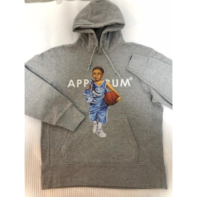 APPLEBUM(アップルバム)の applebum ノースカロナイナ パーカー L 美品 メンズのトップス(パーカー)の商品写真