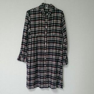 MUJI (無印良品) - 授乳服・長袖ワンピース