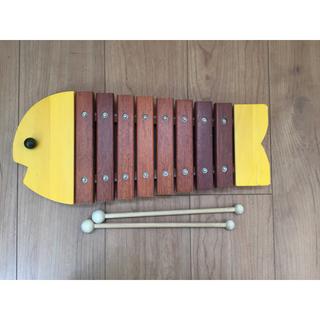 ボーネルンド(BorneLund)のボーネルンド お魚シロフォン(木琴)(楽器のおもちゃ)