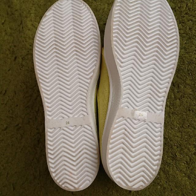 くみゅ様確認専用✨grace gardenイエロースニーカー レディースの靴/シューズ(スニーカー)の商品写真