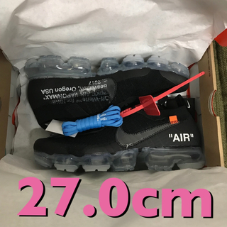 オフホワイト(OFF-WHITE)の27.0 air vapormax  fk the ten off white(スニーカー)