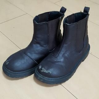 ジーユー(GU)のguキッズサイドゴアショートブーツ18(ブーツ)