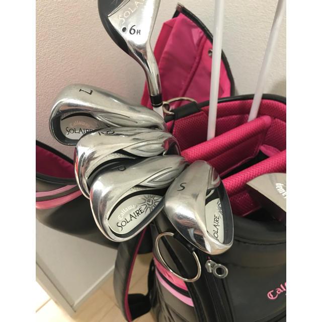Callaway Golf(キャロウェイゴルフ)のゴルフハーフセット  黒 スポーツ/アウトドアのゴルフ(クラブ)の商品写真
