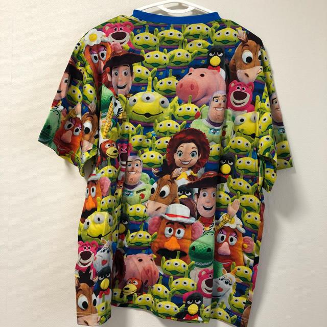 Disney(ディズニー)の新作☆ トイストーリー 総柄 Tシャツ ディズニーリゾート レディースのトップス(Tシャツ(半袖/袖なし))の商品写真