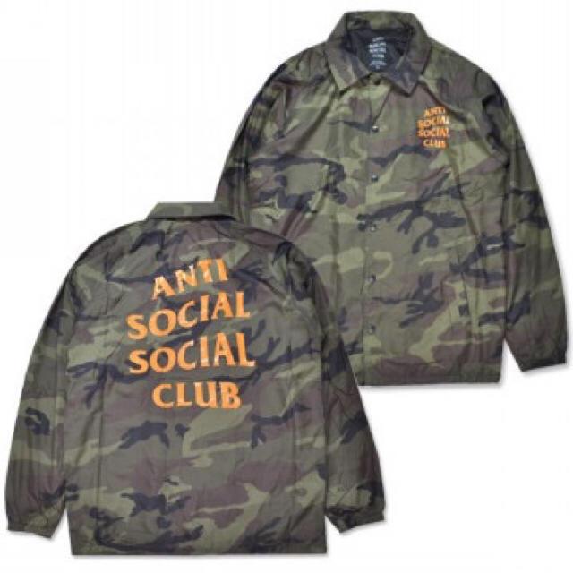 04fb18d642fd ANTI(アンチ)のANTI SOCIAL SOCIAL CLUB Camo Coach ASSC メンズのジャケット