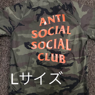 アンチ(ANTI)のANTI SOCIAL SOCIAL CLUB Camo Coach ASSC(ナイロンジャケット)