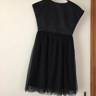 ジーユー(GU)のワンピースドレス140お値下げしました(ドレス/フォーマル)