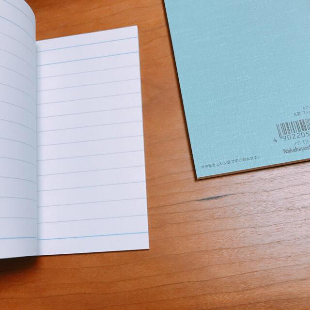 MUJI (無印良品)(ムジルシリョウヒン)のMUJI⭐︎無印良品   ダブルリングノートA6×2冊ミニノートメモ帳2冊セット インテリア/住まい/日用品の文房具(ノート/メモ帳/ふせん)の商品写真