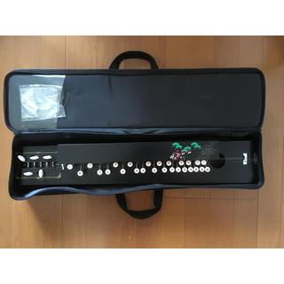 大正琴ソフトケース付き 和楽器(大正琴)