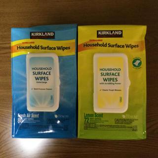 コストコ(コストコ)のカークランド ウェットタオル  Household Surface Wipes(その他)