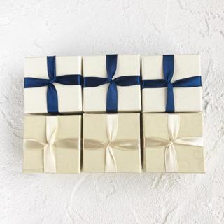 キワセイサクジョ(貴和製作所)のギフトボックスアソート6個♪ 5x5x3.7cm(ラッピング/包装)