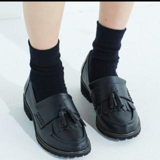 ハコ(haco!)の【新品】haco! タッセルローファー(ローファー/革靴)