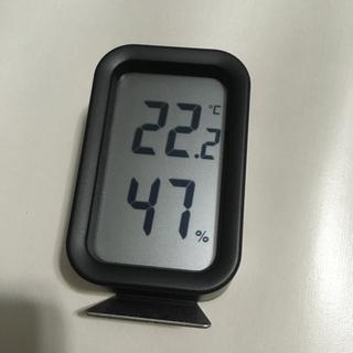 ムジルシリョウヒン(MUJI (無印良品))の無印良品 デジタル温湿度計 muji(置時計)