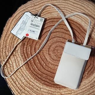 ザラ(ZARA)の[新品未使用] ZARA携帯ポシェットケース(モバイルケース/カバー)