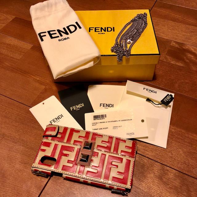 new arrival c54b2 3f0e7 FENDI iPhone X ケース   フリマアプリ ラクマ