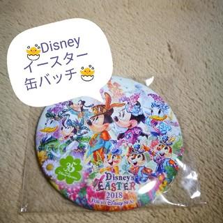 ディズニー(Disney)の🐣Disney 2018 イースター缶バッチ🌼(バッジ/ピンバッジ)