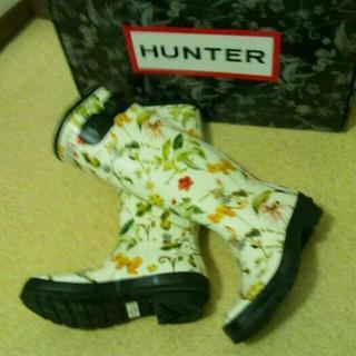 HUNTER☆レア!ラバーブーツ(レインブーツ/長靴)