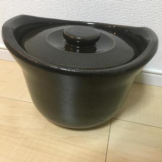 ムジルシリョウヒン(MUJI (無印良品))の無印良品 土鍋ごはん 3合(鍋/フライパン)