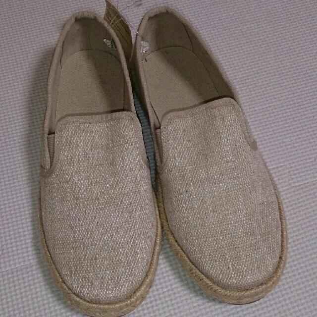 MUJI (無印良品)(ムジルシリョウヒン)のMUJI エスパドリーユスニーカー 生成り レディースの靴/シューズ(スニーカー)の商品写真