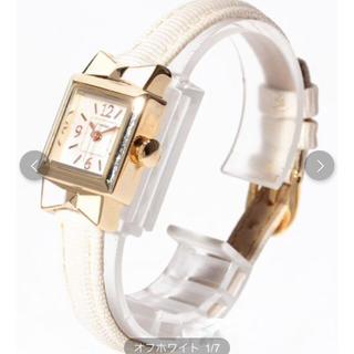 スリーフォータイム(ThreeFourTime)の新品 スリーフォータイム リボン腕時計 🌸大幅値下げ‼️(腕時計)