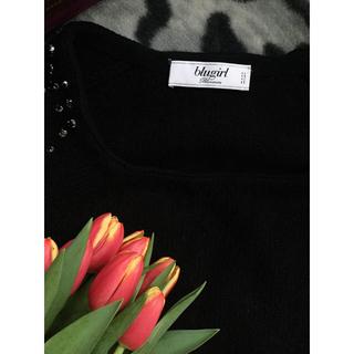 アンナモリナーリ(ANNA MOLINARI)のBlugirl 五分袖ニット 新品(ニット/セーター)