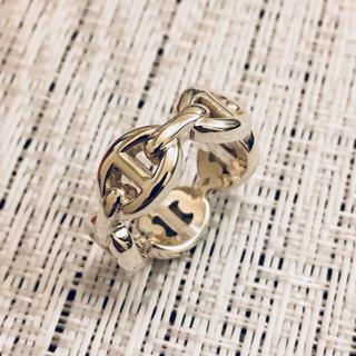 エルメス(Hermes)のエルメス シェーヌダンクル 指輪 リング 美品 磨き済み 48 (リング(指輪))