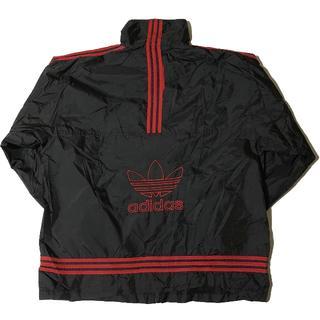 ナイロンジャケット/ アディダス子供/ ロゴ/ 黒 adidas Originals/