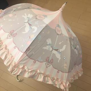 アンジェリックプリティー(Angelic Pretty)の今井キラ 日傘  猫のメリーゴーランド  ルミエーブル アンジェリックプリティ(傘)