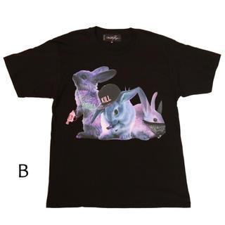 ミルクボーイ(MILKBOY)のMILKBOY(ミルクボーイ) RIOT RABBITS TEE ブラック(Tシャツ/カットソー(半袖/袖なし))