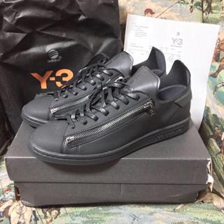 ワイスリー(Y-3)の 【Y-3】STAN ZIP スタンジップ 黒黒 名作完売品 27.5(スニーカー)