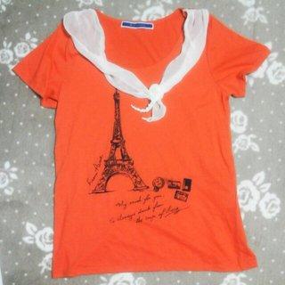 ジエンポリアム(THE EMPORIUM)のTHE EMPORIUMオレンジTee(Tシャツ(半袖/袖なし))