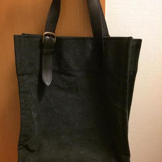 ムジルシリョウヒン(MUJI (無印良品))の 無印良品 帆布 柿渋染 トートショルダーバッグ(トートバッグ)