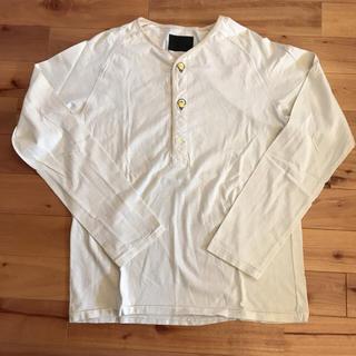 イレイト(ELATE)のELATE  メンズ ヘンリーネック ロンT(Tシャツ/カットソー(七分/長袖))