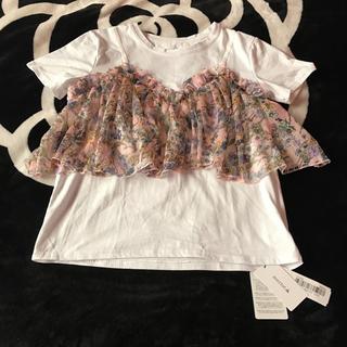 メルロー(merlot)のトップス(Tシャツ(半袖/袖なし))