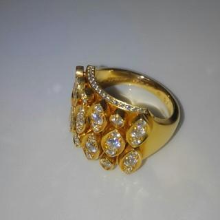カルティエ(Cartier)のカルティエ ディアディアダイヤリングその1(リング(指輪))